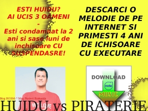 HUIDU vs PIRATERIE2